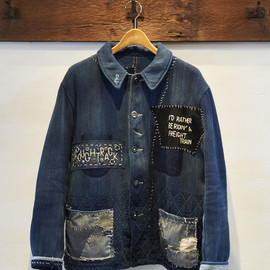 CDY Hunting Jacket Indigo