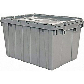 AKRO-MILS - flap container Gray 12gal 45l
