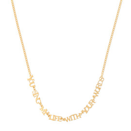 chigo - YOU SING MY LIFE WITH YOUR WORDS Necklace
