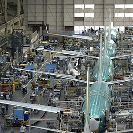 Everett, Washington - Boeing Everett Factory ボーイング エバレット工場
