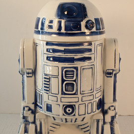 BunnyRabbitVintage - Vintage Star Wars R2-D2 Cookie Jar