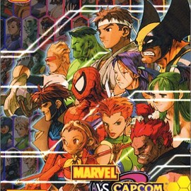 Sony Computer Entertainment, Marvel Comics Group, CAPCOM - MARVEL VS. CAPCOM 2 New Age of Heroes (Playstation2) マーヴルVSカプコン 2 ニューエイジ オブ ヒーローズ