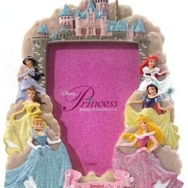 "DISNEYLAND Resort ""Princess Club"" 5x7 Picture Frame - Disney Parks Exclusive & Limited Availability"