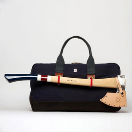 Axe and tote bag combo