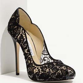 Jimmy Choo - Jimmy Choo | Black Lace Heels