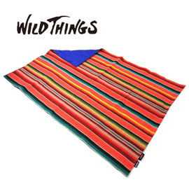 WILD THINGS - SERAPE PRIMALOFT BLANKET