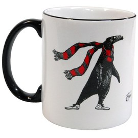 The Gorey Store - The Doubtful Guest (with scarf) Mug