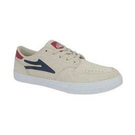 Carroll Select - White Suede
