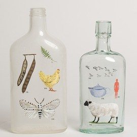 DIY / painted bottles