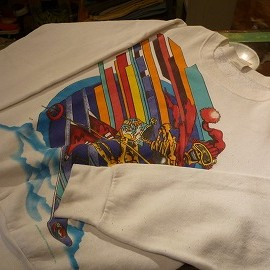 """FRUIT OF THE LOOM - 「<used>80's FRUIT OF THE LOOM """"GRATEFUL DEAD""""SWEAT white""""made in USA"""" size:M 7800yen」完売"""
