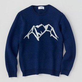 ALOYE - Study - Wool Sweater (Navy)