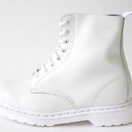 Dr.martens - PASCAL 8EYE BOOT WHITE