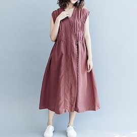 Summer dress women - Summer dress women, dress sleeveless summer, khaki maxi dress