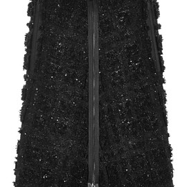 THOM BROWNE - FW2015 3D Tweed Embroidered Skirt
