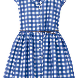 SHIRTDRESS WITH BALLOON SKIRT