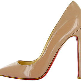 Christian Louboutin  - nude Pigalle