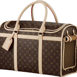 LOUIS VUITTON - dog carrier