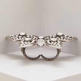GUCCI - Butterfly multifinger ring