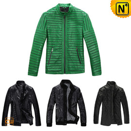 CWMALLS - Mens Designer Leather Jacket CW138490 - cwmalls.com
