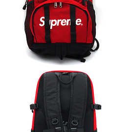 SUPREME - SUPREME(シュプリーム)Backpack(バックパック)RED276-000214-013x【新品】