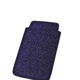CHEAP MONDAY - Glitter Phone Case - Blue