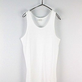 commono reproducts - fraise tank top/white