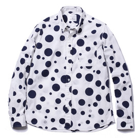 uniform experiment - L/S BIG DOT B.D SHIRT