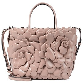 VALENTINO - Valentino Garavani 03 Rose Edition Atelier Small leather tote(FW2020)