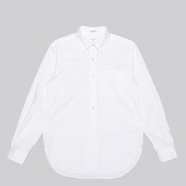 ENGINEERED GARMENTS - 19th BD Shirt-Heavy Oxford-White