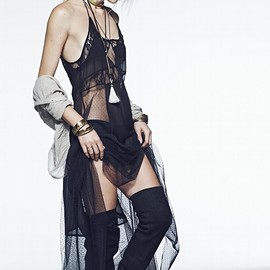 Aline Weber for Free People July 2014