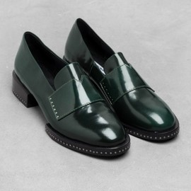 & Other Stories - & Other Stories | Stud Leather Loafers