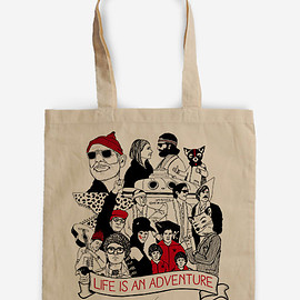 BagApart - Wes Anderson's world Tote Bag