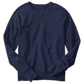 GAP - Lived-in crew pullover(navy uniform)