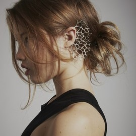 Megan Isaacs for Katie Gallagher nimue ear cuff