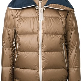 Meanswhile - zip up padded jacket