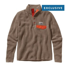 Patagonia - Men's Undyed Cashmere Snap-T Pullover