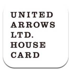 UNITED ARROWS LTD. - HOUSE CARD - iPhone App.