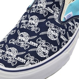 VANS - SLIP ON    V98R PIRATES