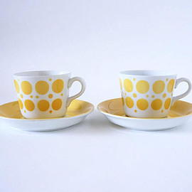 Arabia - Retro Arabia Finland Pop Goran Back Coffee Cups - 2 sets