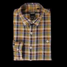 Todd Snyder - Plaid Sport Shirt in Yellow