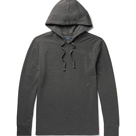 Polo Ralph Lauren - Fleece-Back Cotton-Blend Jersey Hoodie