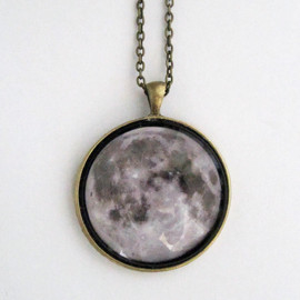Nina Mantra - Moonchild Necklace - Grey