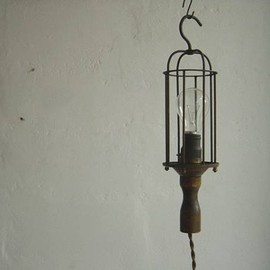 Vintage - USA Industrial lamp