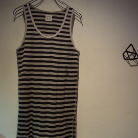 SUNSEA - Border Long Tanktop