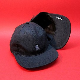 LQQK STUDIO - BLACK WOOL CAT HAT