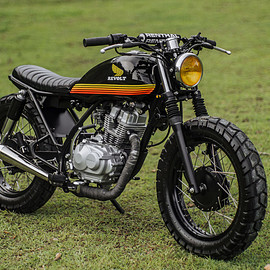 Revolt Cycles - Honda TMX 150 tracker