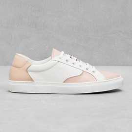 & Other Stories - & Other Stories | Gold Trim Leather Sneakers
