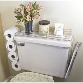 . - Toilet Caddy- 3 in 1 Organizer
