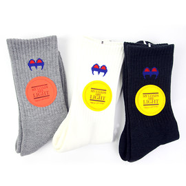 M.L.A.L SOX / blue × yellow