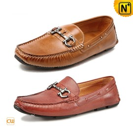 CWMALLS - Mens Leather Driving Shoes CW740015